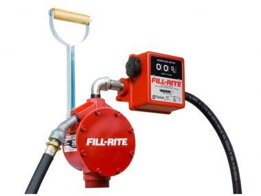 Bomba Fill Rite Manual de piston FR156 con Medidor en Galones