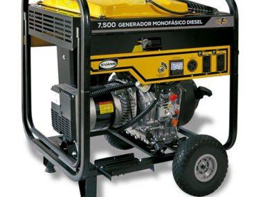 Generador Monofásico Diesel 7000 Watts