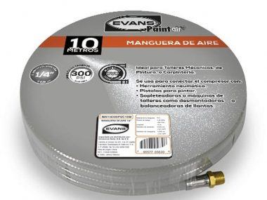 Manguera Aire Hule 10mts 300 PSI Omega Industrial Nicaragua