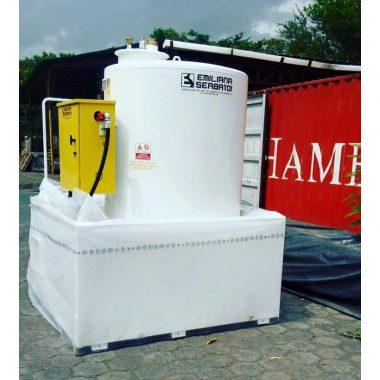 tank fuel 2400 lts omega industrial